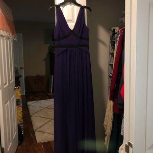 Purple BCBG Prom Dress
